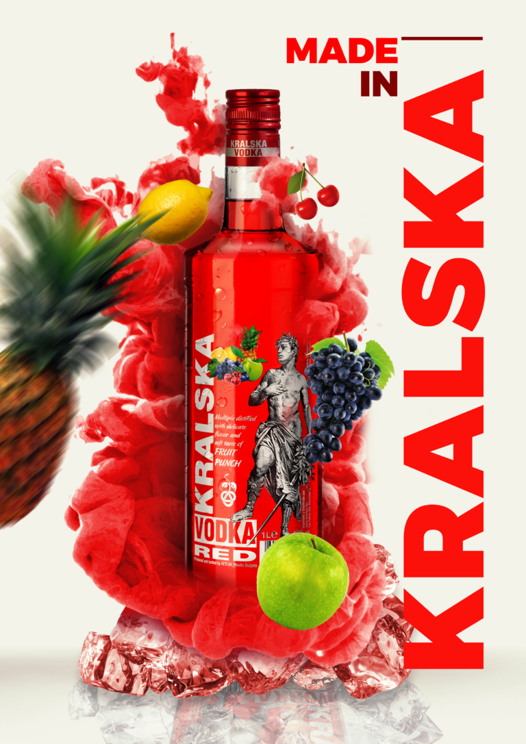 Private labels vodka packages