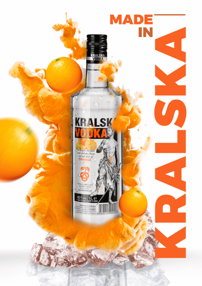 Kralska Vodka Orange