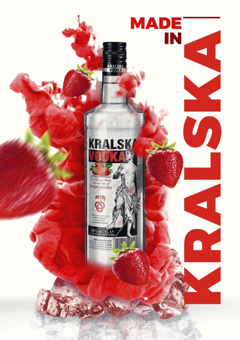 Kralska Vodka Strawberry